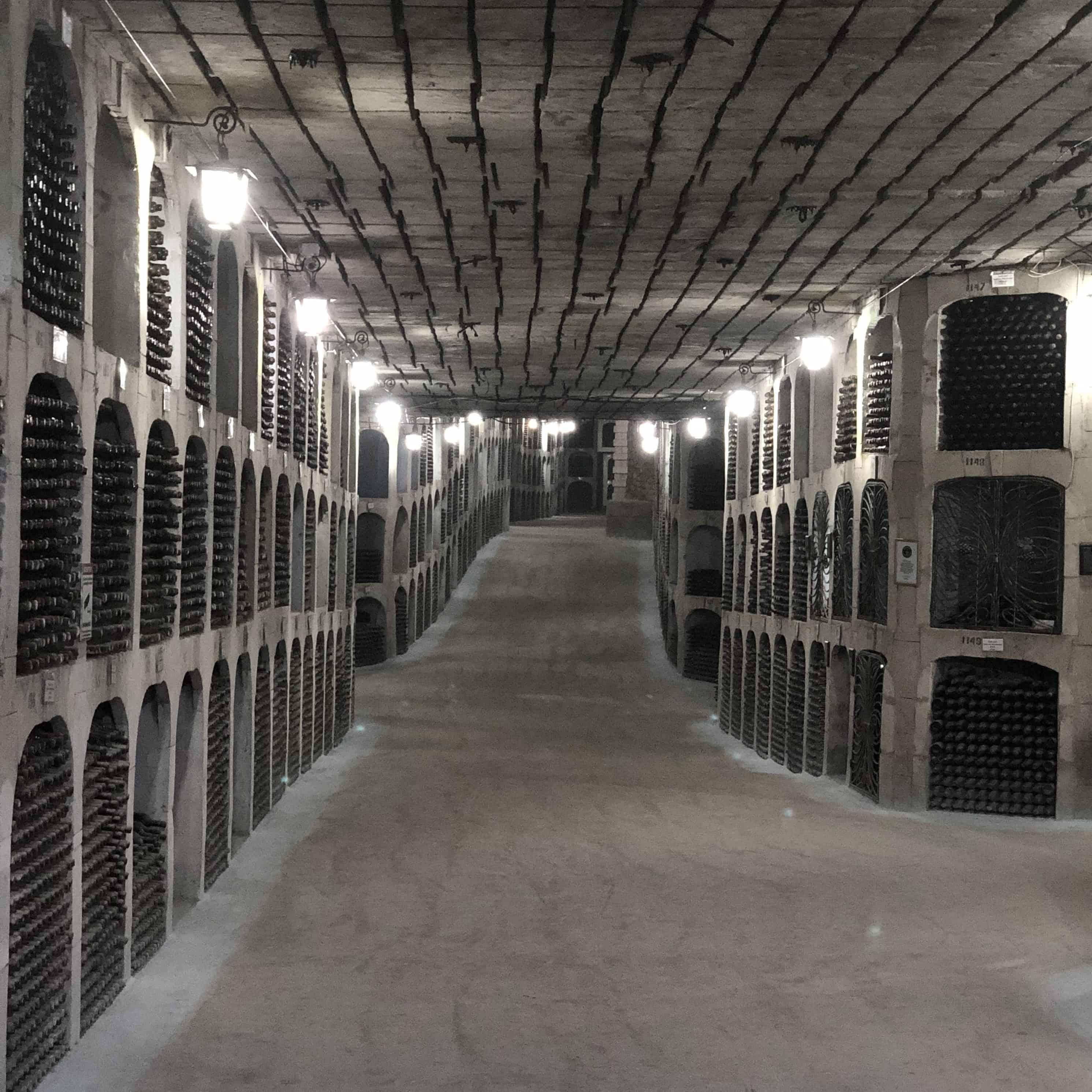 Weingalerien Milestii Mici Moldawien Weinkeller