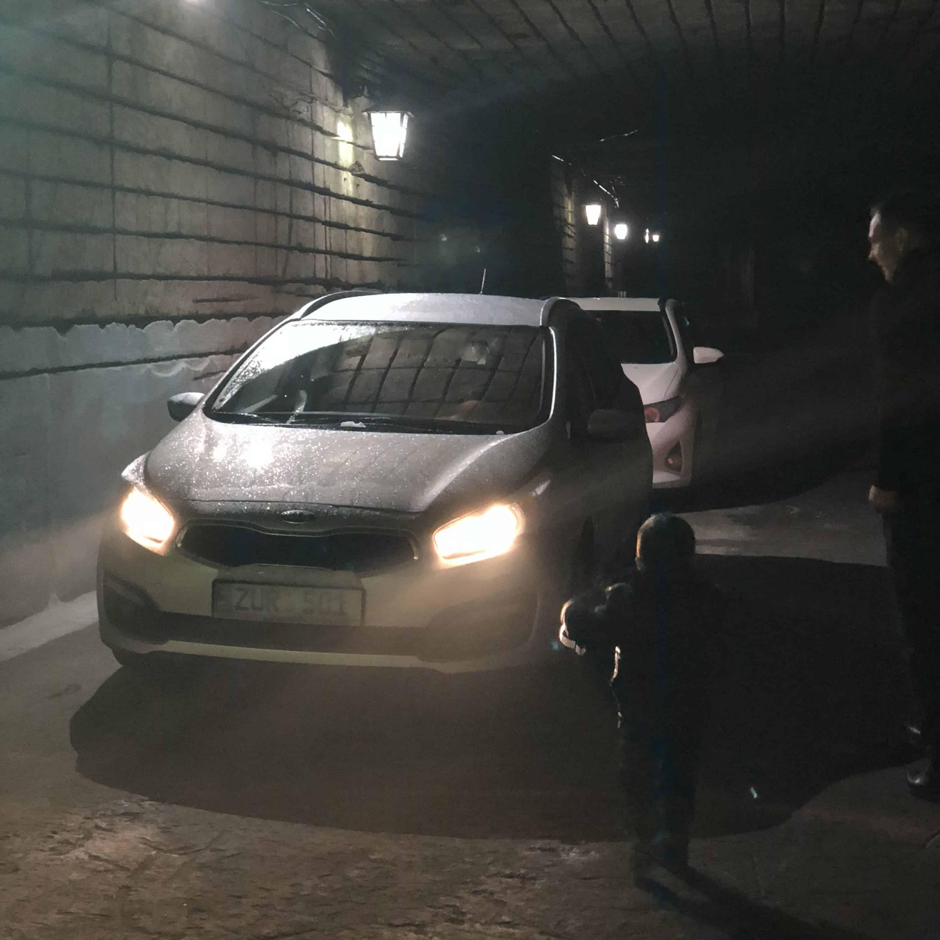 Weinkeller Auto Moldawien Milesti Mici