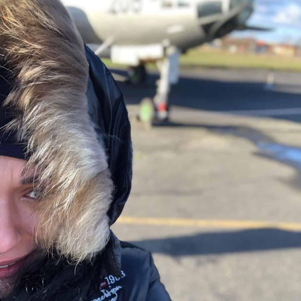 Muzuem Sił Powietrznych Berlin Gatow: zimno i wietrznie