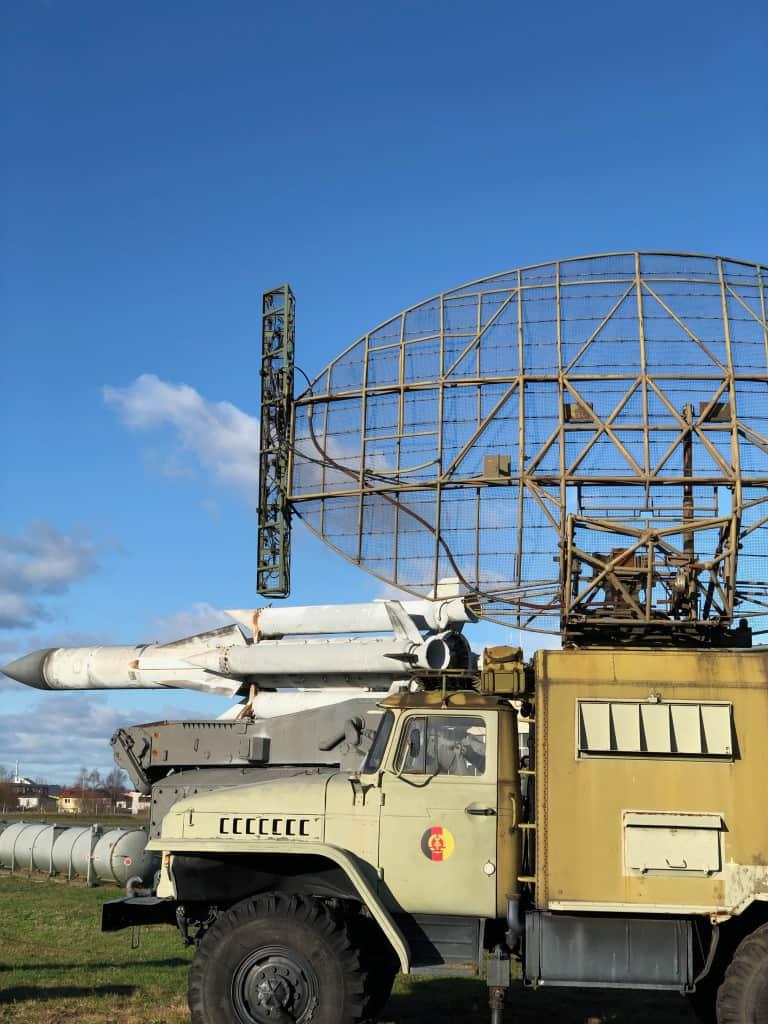 Muzuem Sil Powietrznych Berlin System radarowy Parol
