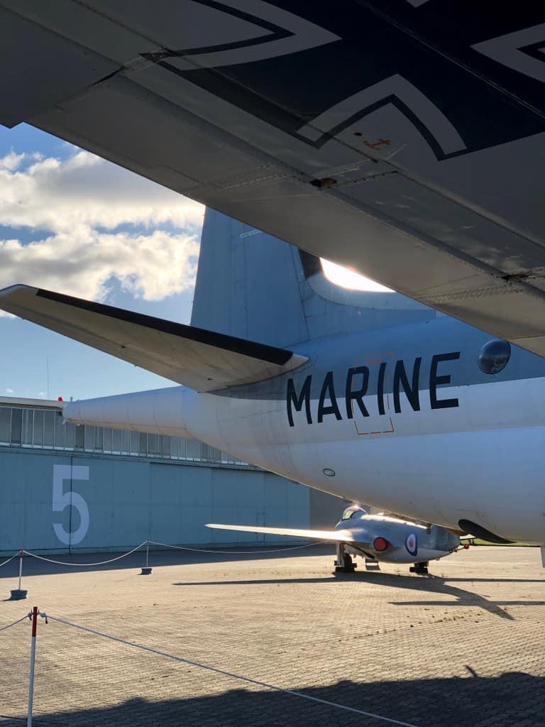 Muzuem Sil Powietrznych Berlin Breuget Atlantic