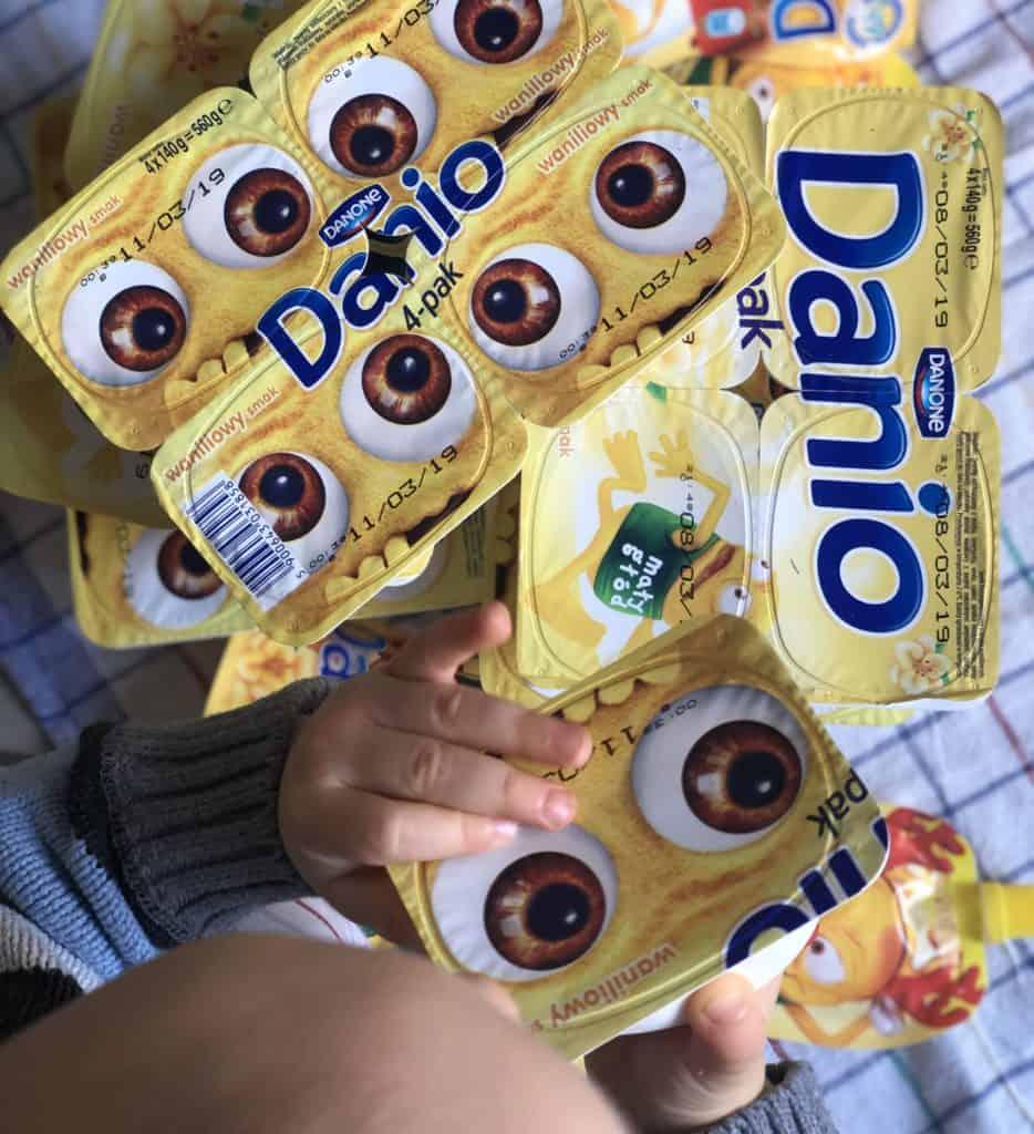 Vanillequark Danio