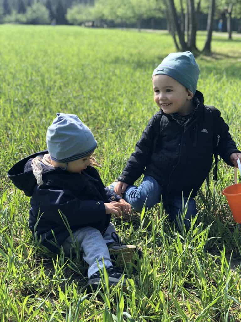 Dzieci Ogrod Botaniczny Pankow