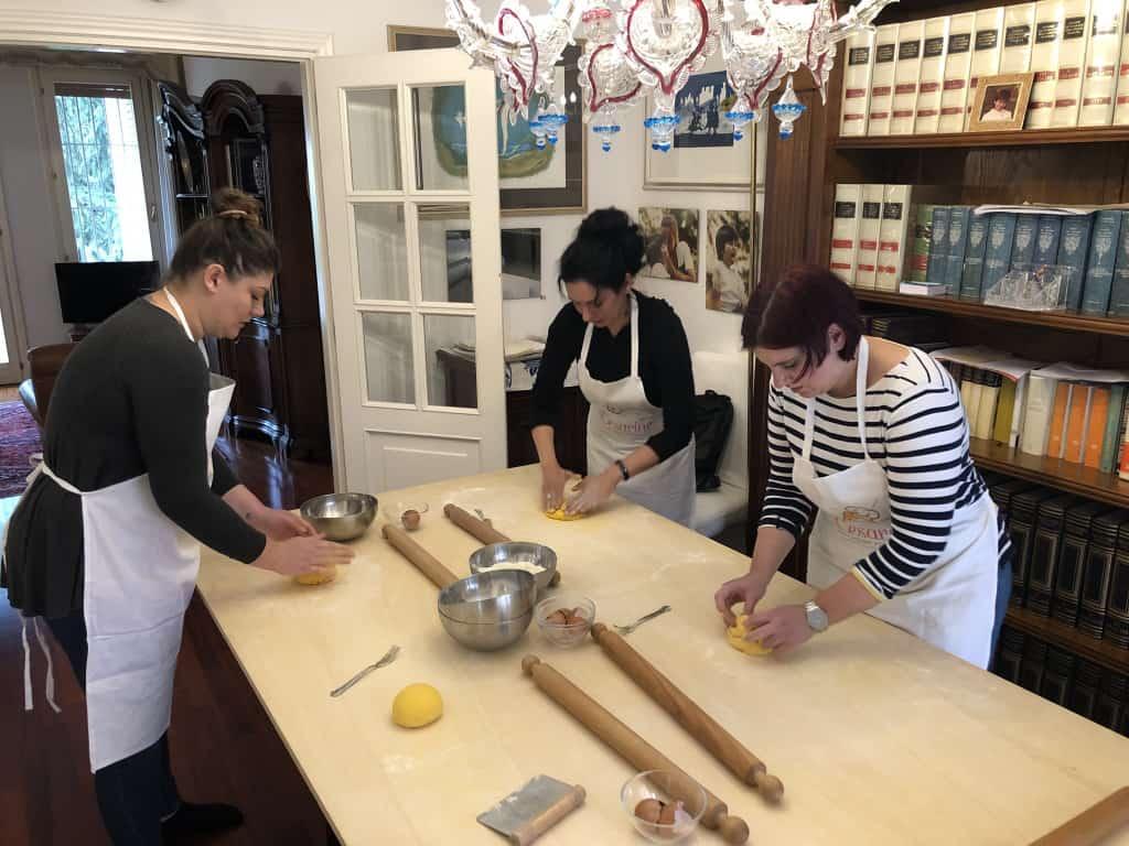 Kochkurs bei Cesarina in Italien