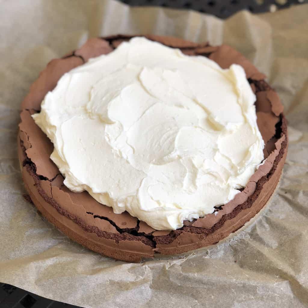 Spód czekoladowy z mascarpone