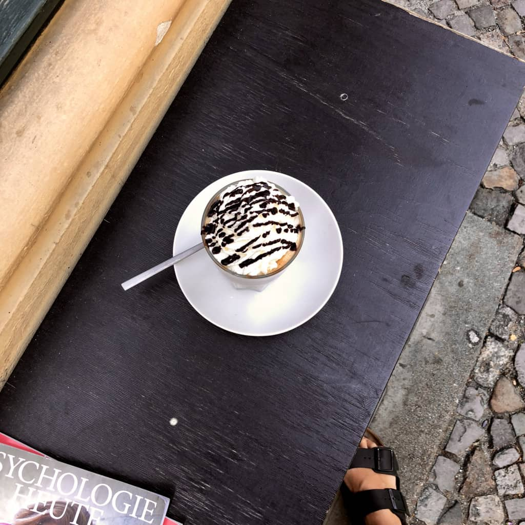 Süssfein Berlin Eiskaffee
