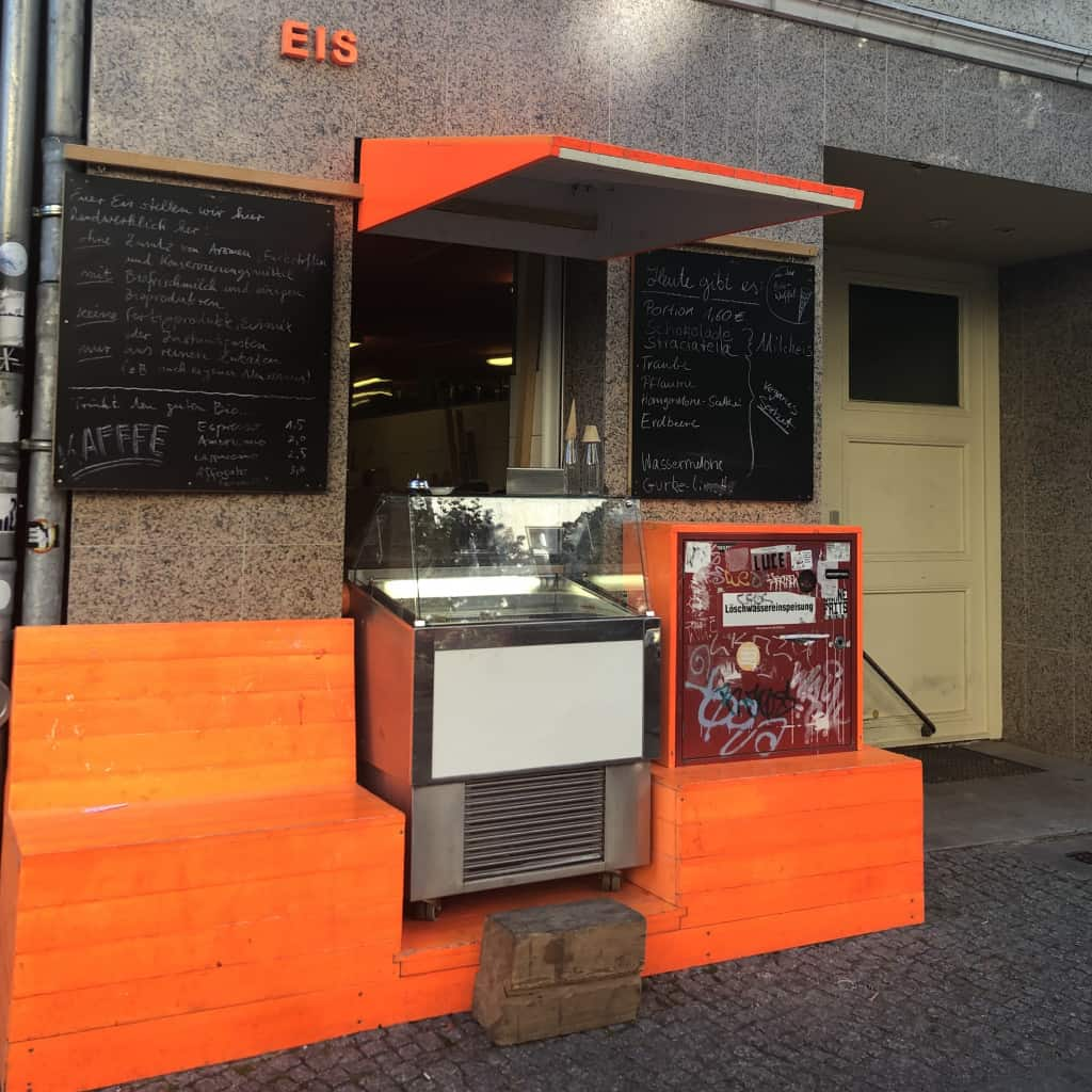 Yes Eis lodziarnia w Berlinie