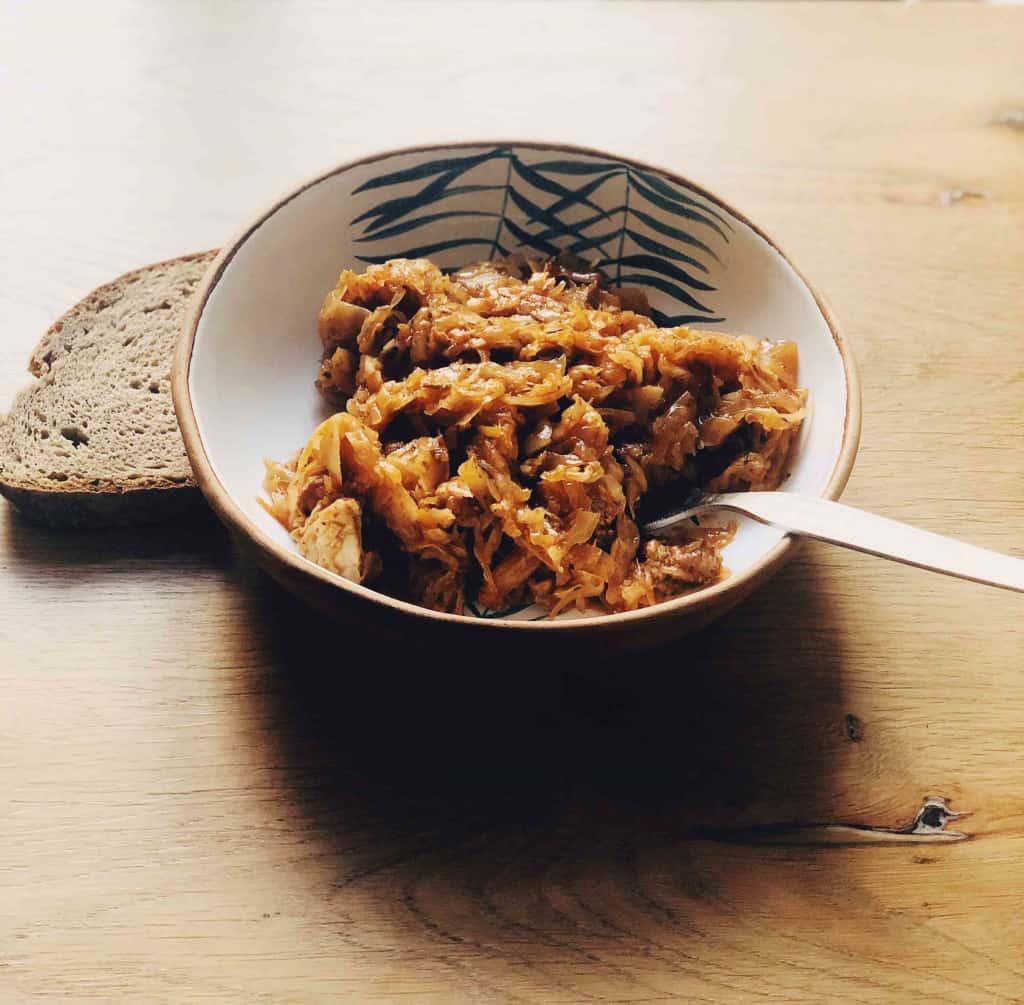 Bigos polnischer Sauerkrauteintopf