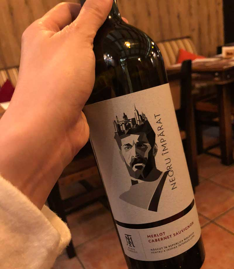 MinisTerrios Rotwein Moldawien Moldau Negru