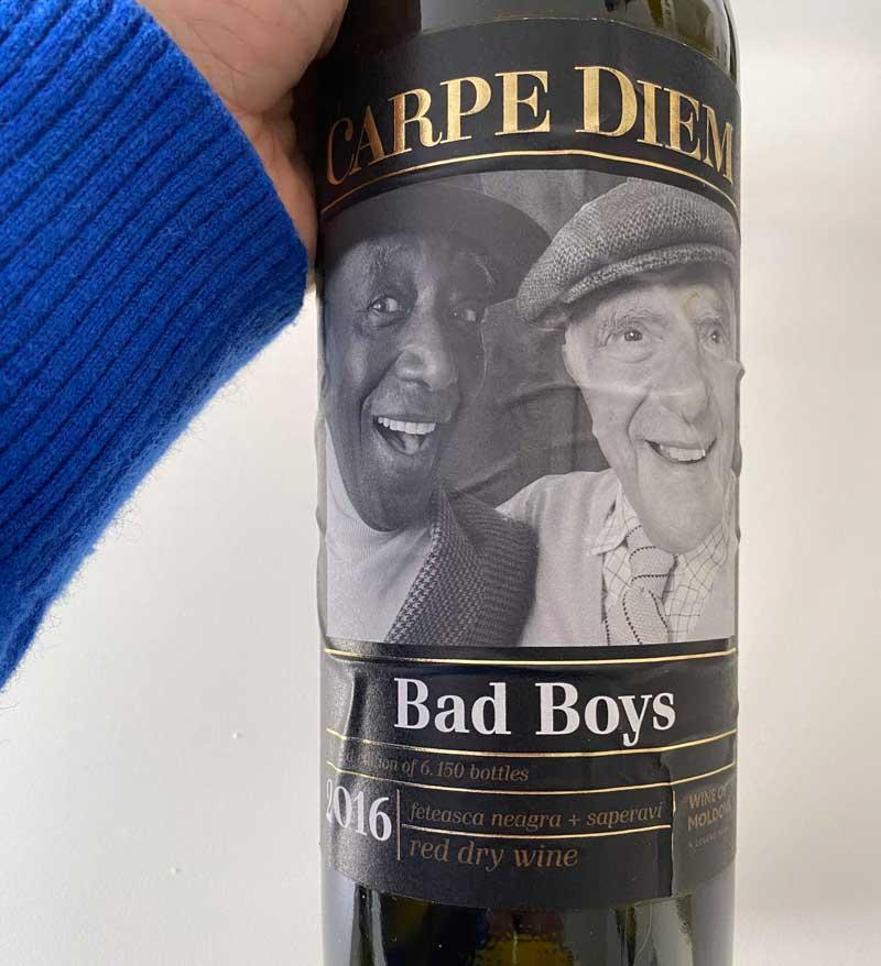 Wein Moldawien Moldau Carpe Diem Bad Boys Rotwein