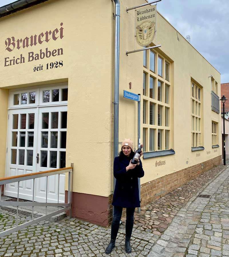 Kleinste Brauerei Brandenburgs Spreewald Lübbenau Erich Babben